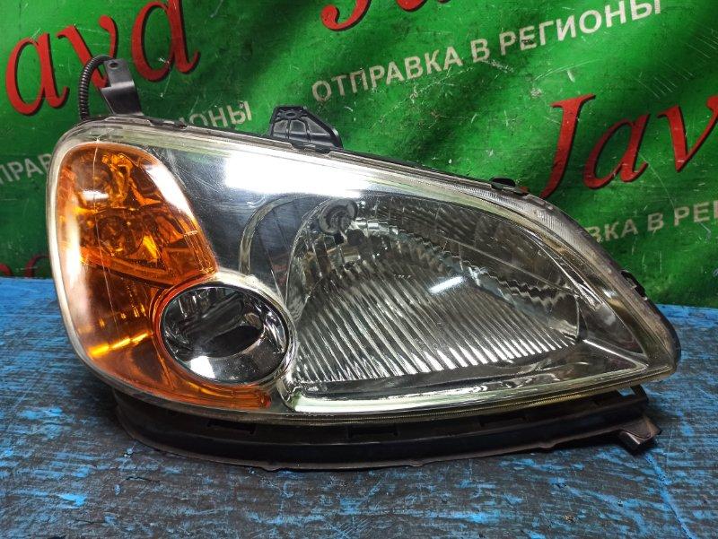 Фара Honda Civic Ferio ES1 D15B 2002 передняя правая (б/у) P0882