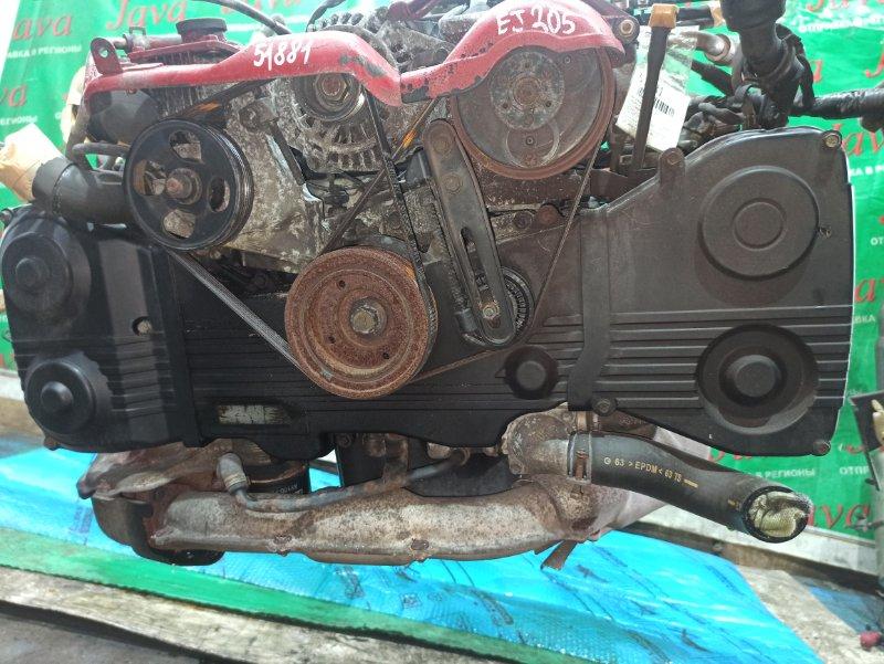 Двигатель Subaru Forester SF5 EJ205 2001 (б/у) ПРОБЕГ-51000КМ. 4WD. EJ205DWWBE. +КОМП. ПОД М/Т. СТАРТЕР В КОМПЛЕКТЕ. ПРОДАЖА БЕЗ МАХОВИКА.