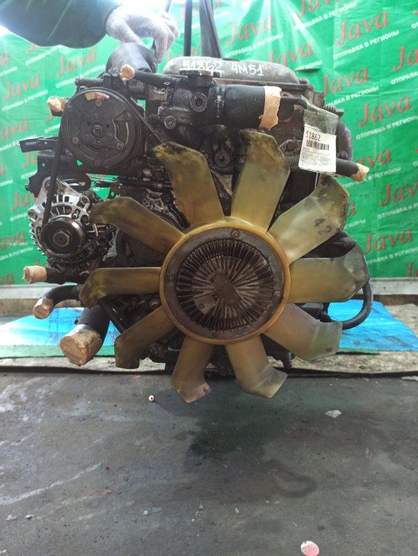 Двигатель Mitsubishi Canter FE50E 4M51 2001 (б/у) ПРОБЕГ-41000КМ. 2WD. ПОД М/Т. ME220180. +КОМП. СТАРТЕР В КОМПЛЕКТЕ. ПРОДАЖА БЕЗ МАХОВИКА. ИМЕЕТСЯ ВИДЕО РАБОТЫ.