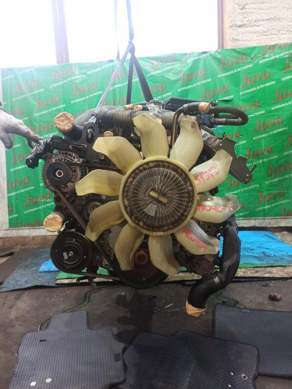 Двигатель Hino Dutro XZU404 N04C-T 2005 (б/у) ПРОБЕГ-93000КМ. 2WD. +КОМП. ПОД М/Т. СТАРТЕР В КОМПЛЕКТЕ. ПРОДАЖА БЕЗ МАХОВИКА.