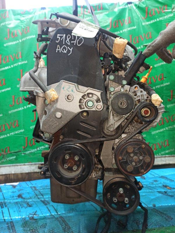 Двигатель Volkswagen New Beetle 9C1 AQY 2002 (б/у) ПРОБЕГ-68000КМ. 2WD. ПОД А/Т. СТАРТЕР В КОМПЛЕКТЕ. WVWZZZ9CZ2M614378