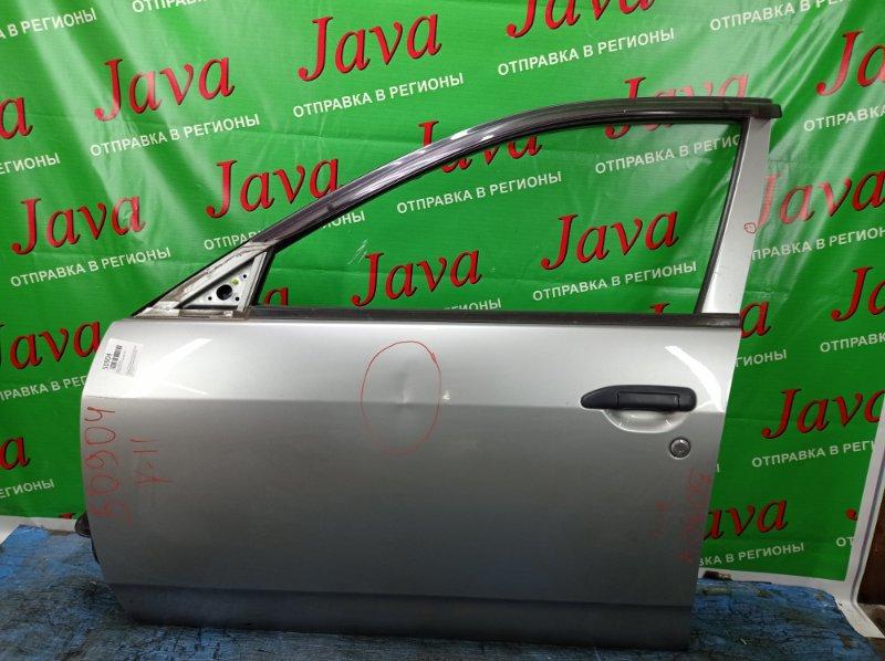 Дверь Nissan Ad VFY11 QG15DE 2005 передняя левая (б/у) ПОТЕРТОСТИ. ВМЯТИНА. ТЫЧКА. ВЕТРОВИК. ЭЛЕКТРО.
