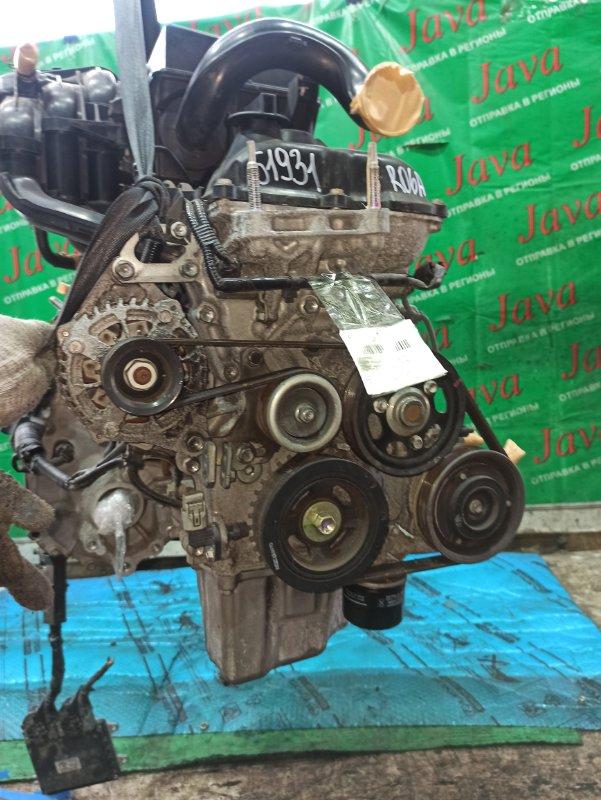Двигатель Suzuki Wagon R MH34S R06A 2014 (б/у) ПРОБЕГ-46000КМ. 2WD. +КОМП. ПОД А/Т. СТАРТЕР В КОМПЛЕКТЕ.