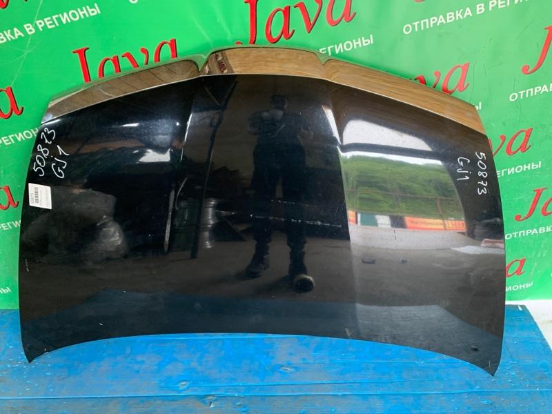 Капот Honda Airwave GJ1 L15A 2006 передний (б/у) ПОТЕРТОСТИ.