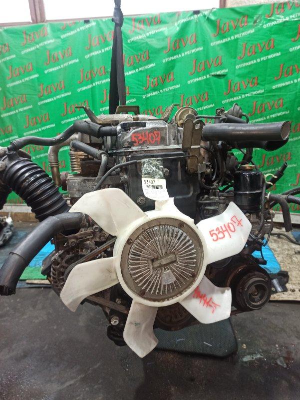 Двигатель Mitsubishi Pajero V78W 4M41-T 1999 (б/у) ПРОБЕГ-79000КМ. 4WD. +КОМП. ПОД А/Т. СТАРТЕР В КОМПЛЕКТЕ.