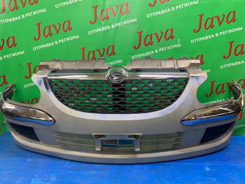 Бампер Daihatsu Storia M100S EJ-DE 2002 передний (б/у) ПОТЕРТОСТИ. ПОЛЕЗЛА КРАСКА.