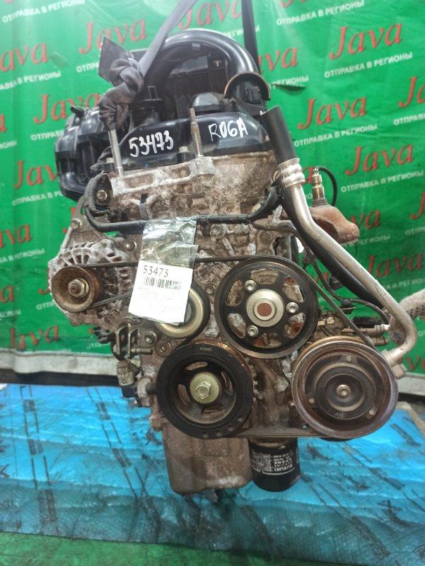 Двигатель Suzuki Alto HA35S R06A 2014 (б/у) ПРОБЕГ-48000КМ. 2WD. +КОМП. ПОД А/Т. СТАРТЕР В КОМПЛЕКТЕ.