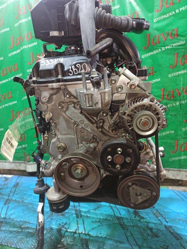 Двигатель Nissan Dayz B21W 3B20 2015 (б/у) ПРОБЕГ-48000КМ. 2WD. +КОМП. ПОД А/Т. СТАРТЕР В КОМПЛЕКТЕ. ДЕФЕКТ КЛАПАННОЙ КРЫШКИ.