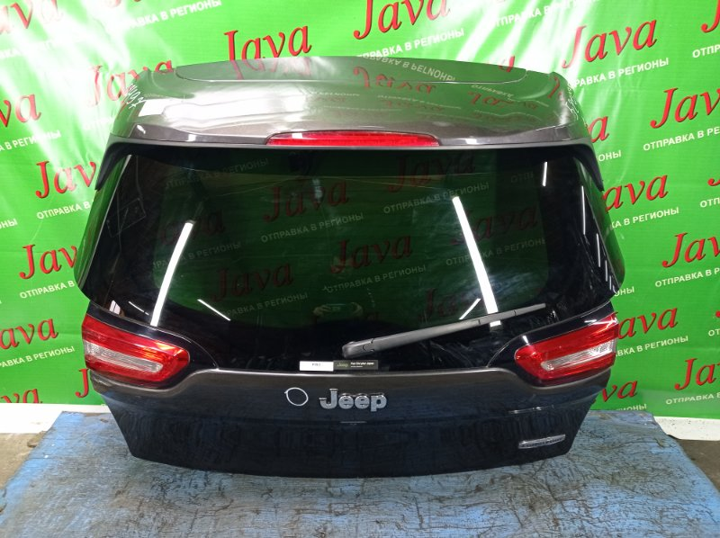 Дверь задняя Jeep Cherokee KL ED6 2015 задняя (б/у) ПОТЕРТОСТИ. ТЫЧКА. СПОЙЛЕР. МЕТЛА. КАМЕРА. 1C4PJLGBXEW321214