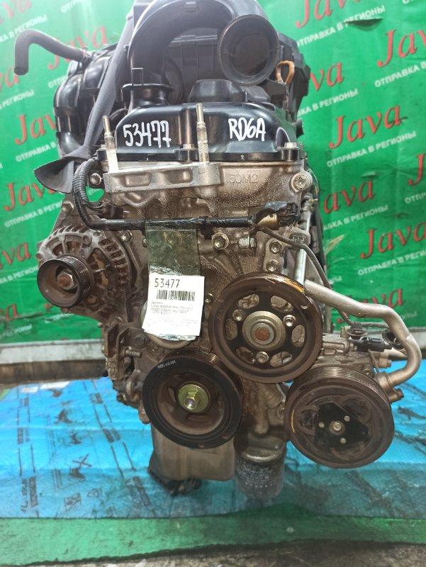 Двигатель Suzuki Wagon R MH34S R06A 2013 (б/у) ПРОБЕГ-52000КМ. 4WD. +КОМП. ПОД А/Т. СТАРТЕР В КОМПЛЕКТЕ.