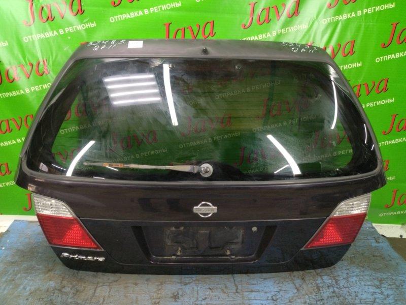 Дверь задняя Nissan Primera WQP11 QG18DD 2000 задняя (б/у) ПОТЕРТОСТИ. ПОЛЕЗ ЛАК. МЕТЛА.