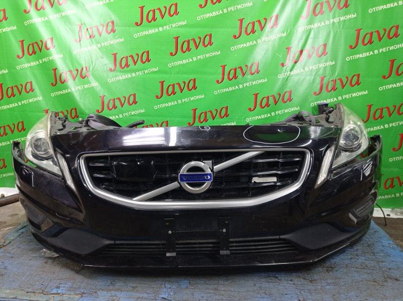 Ноускат Volvo V60 FW48 B4164T 2012 передний (б/у) ФАРЫ ГАЛОГЕН. СТЕКЛООМЫВАТЕЛИ ФАР.  YV1FW485BD1103592