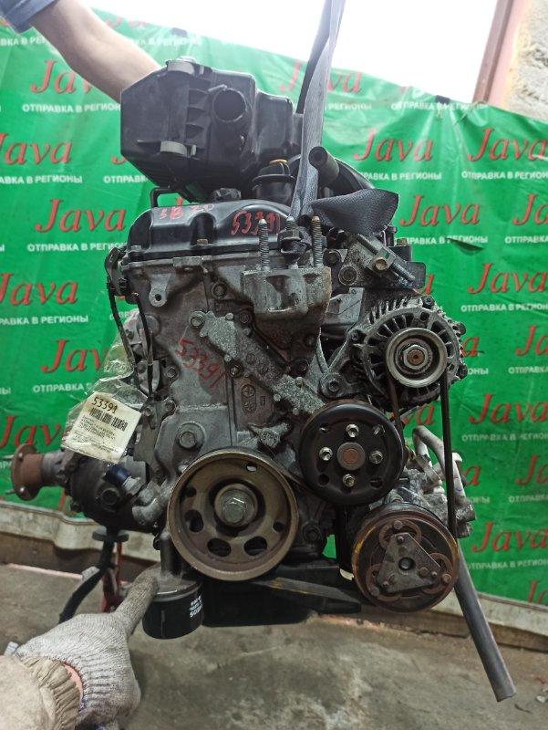 Двигатель Nissan Dayz B21W 3B20 2014 (б/у) ПРОБЕГ-51000КМ. 4WD. КОСА+КОМП. ПОД А/Т. СТАРТЕР В КОМПЛЕКТЕ.