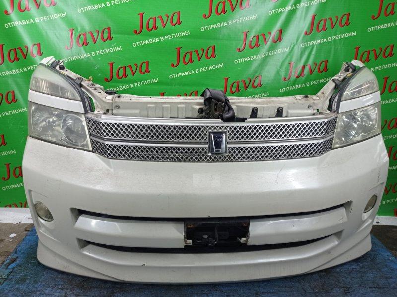 Ноускат Toyota Voxy AZR60 1AZ-FSE 2005 передний (б/у) 2-Я МОД. КСЕНОН. ТУМАНКИ. ДЕФЕКТ РАДИАТОРА.