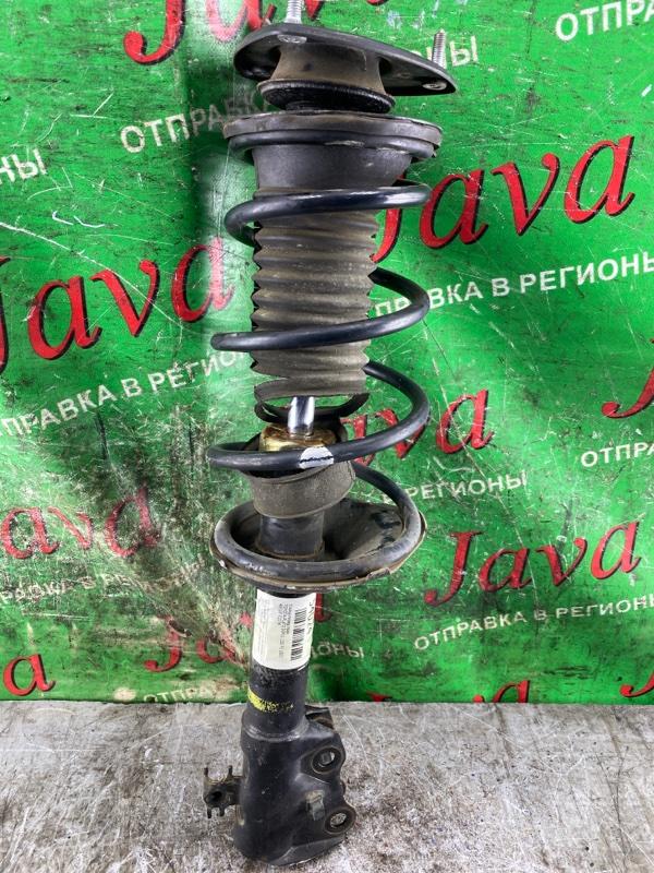 Стойка Toyota Platz SCP11 1SZ-FE 2003 передняя правая (б/у) 2WD. ДЕФЕКТ ПЫЛЬНИКА