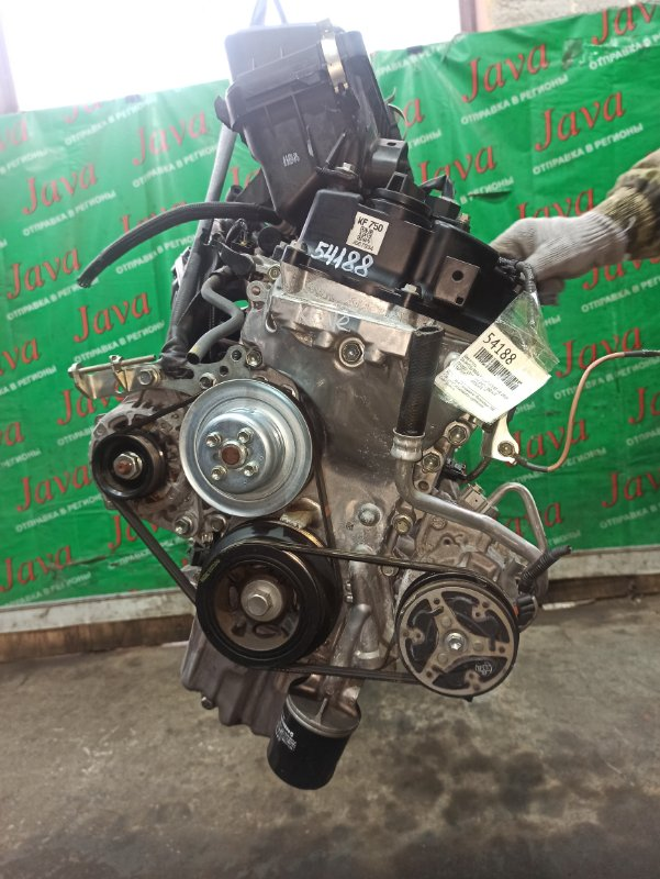 Двигатель Daihatsu Mira E:s LA350S KF-VE 2018 (б/у) ПРОБЕГ-13000КМ. 2WD. +КОМП. ЭЛЕКТРО ЗАСЛОНКА. ПОД А/Т. СТАРТЕР В КОМПЛЕКТЕ.