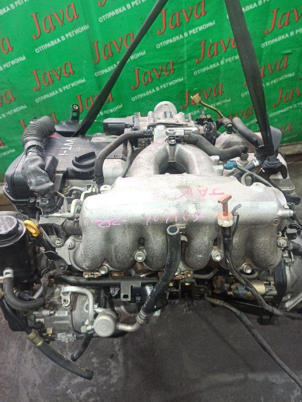 Двигатель Toyota Aristo JZS160 2JZ-GE 2003 (б/у) ПРОБЕГ-59000КМ. 2WD. КОСА+КОМП. ПОД А/Т. СТАРТЕР В КОМПЛЕКТЕ.