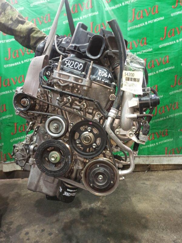 Двигатель Nissan Moco MG33S R06A-T 2015 (б/у) ПРОБЕГ-31000КМ. 4WD. +КОМП. ПОД А/Т. СТАРТЕР В КОМПЛЕКТЕ.