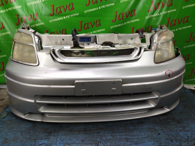 Ноускат Honda Capa GA4 D15B 1999 передний (б/у) ПОД А/Т. НЕТ НА ЛЕВОЙ ФАРЕ РЕСНИЧКИ. ДЕФЕКТ ВЕРХНЕЙ ПЛАНКИ ТЕЛЕВИЗОРА.
