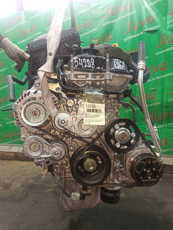 Двигатель Suzuki Spacia MK53S R06A 2020 (б/у) ПРОБЕГ-2000КМ. 2WD. +КОМП. ПОД А/Т. СТАРТЕР В КОМПЛЕКТЕ.