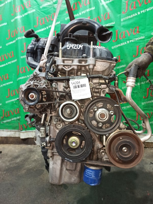 Двигатель Suzuki Wagon R MH34S R06A 2014 (б/у) ПРОБЕГ-41000КМ. 2WD. +КОМП. ПОД А/Т. СТАРТЕР В КОМПЛЕКТЕ.