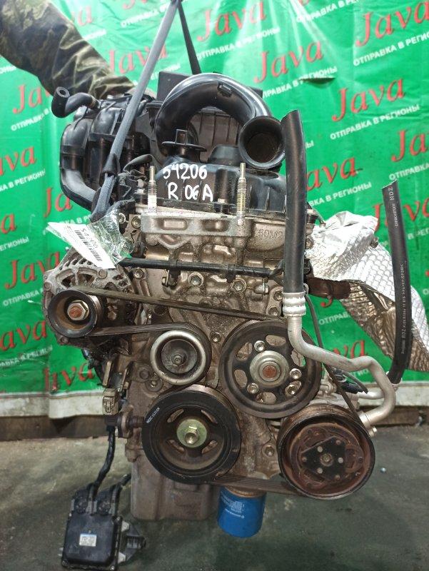 Двигатель Suzuki Hustler MR31S R06A 2014 (б/у) ПРОБЕГ-52000КМ. 2WD. +КОМП.  ПОД А/Т. СТАРТЕР В КОМПЛЕКТЕ.