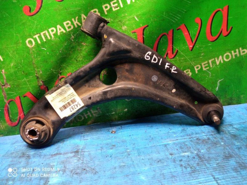 Рычаг Honda Fit GD1 L13A 2001 передний правый нижний (б/у) 2WD, ДЕФЕКТ САЙЛЕНТБЛОКА