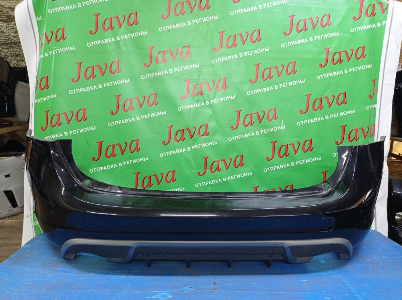 Бампер Volvo V60 FW48 B4164T 2012 задний (б/у) ПОТЕРТОСТИ. СОНАРЫ. YV1FW485BD1103592