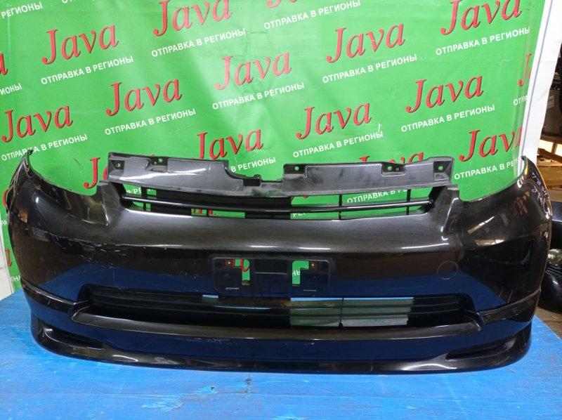 Бампер Toyota Passo KGC10 1KR-FE 2006 передний (б/у) 1-я МОДЕЛЬ. ПОТЕРТОСТИ. ГУБА