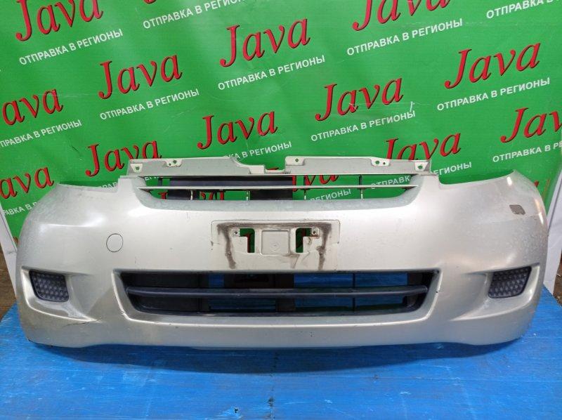 Бампер Toyota Passo KGC10 1KR-FE 2007 передний (б/у) 2-я МОДЕЛЬ. ПОТЕРТОСТИ. ПОДОРВАН. ПОЛЕЗ ЛАК.