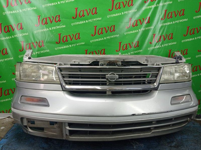 Ноускат Nissan Largo W30 KA24DE 1996 передний (б/у) ПОД А/Т.  ПОЛЕЗ ХРОМ НА РЕШЕТКЕ.
