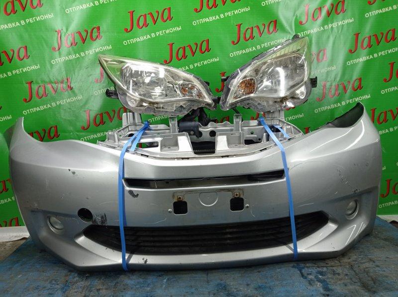 Ноускат Subaru Trezia NCP120 1NZ-FE 2011 передний (б/у) ФАРЫ ГАЛОГЕН. ПОТЕРТОСТЬ НА БАМПЕРЕ. ЦАРАПИНЫ НА ФАРАХ.