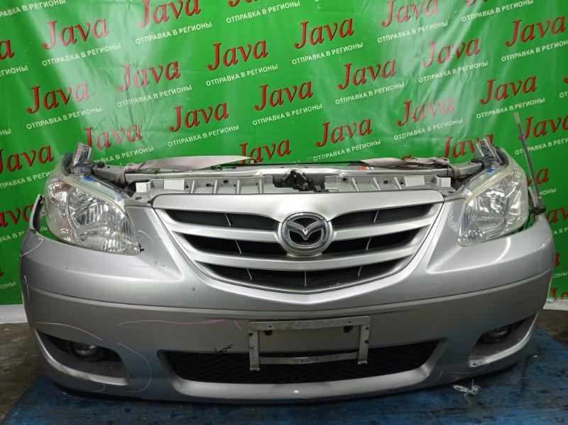 Ноускат Mazda Mpv LW3W L3-DE 2004 передний (б/у) ФАРЫ ГАЛОГЕН.2-Я МОД. ПОД А/Т. ПОТЕРТОСТЬ НА ЛЕВОЙ ФАРЕ.