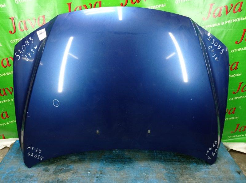 Капот Mazda Atenza GY3W L3-VE 2004 передний (б/у) ПОТЕРТОСТИ. ТЫЧКА