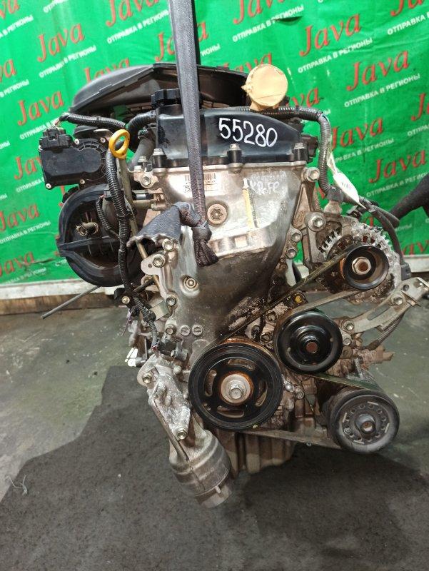 Двигатель Toyota Vitz KSP90 1KR-FE 2009 (б/у) ПРОБЕГ-76000КМ. 2WD. ПРОДАЖА С АКПП(K410-04A). +КОМП. ЭЛЕКТРО ЗАСЛОНКА. СТАРТЕР В КОМПЛЕКТЕ.