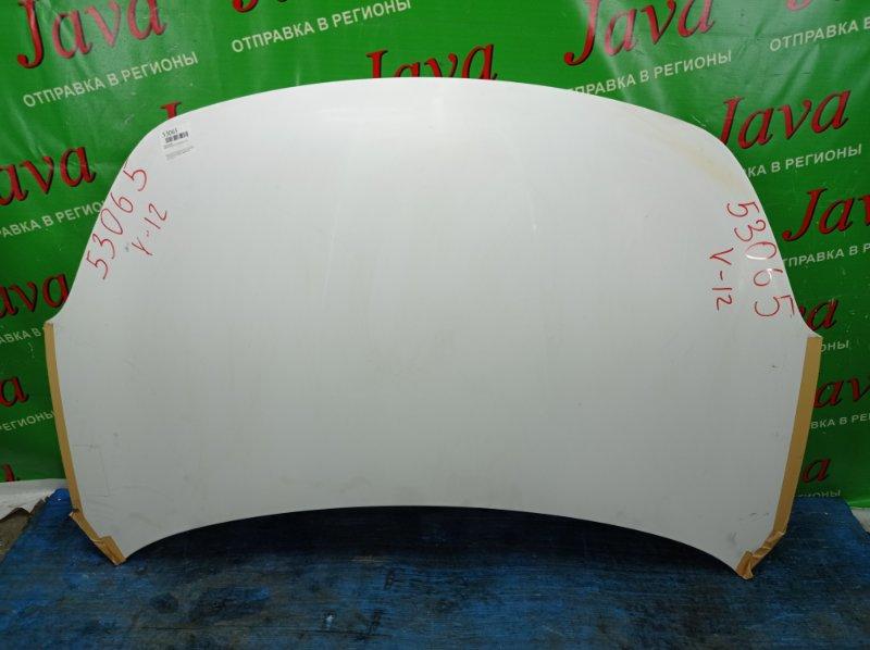 Капот Mazda Familia VY12 HR15DE 2013 передний (б/у) ПОТЕРТОСТИ. СЛЕДЫ СКОТЧА.