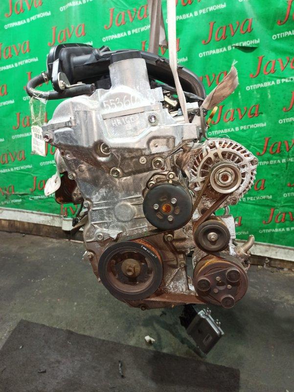 Двигатель Nissan Nv200 VM20 HR16DE 2010 (б/у) ПРОБЕГ-57000КМ. 2WD. +КОМП. ПОД А/Т. СТАРТЕР В КОМПЛЕКТЕ.