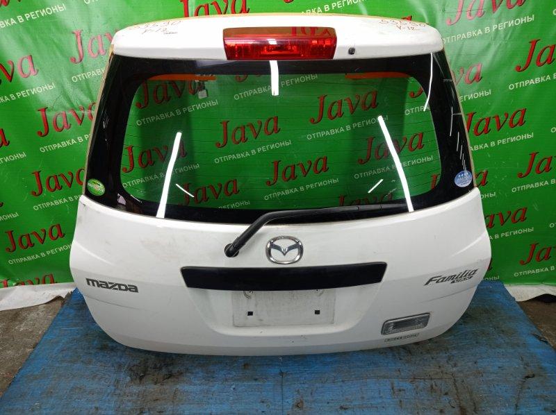 Дверь задняя Mazda Familia VY12 HR15DE 2013 задняя (б/у) ПОТЕРТОСТИ. МЕТЛА.