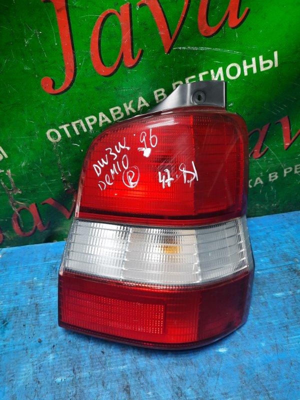 Стоп-сигнал Mazda Demio DW3W B3 2000 задний правый (б/у) 7414