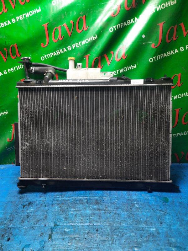 Радиатор основной Mazda Biante CCEFW LF 2008 передний (б/у) A/T