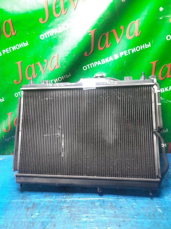 Радиатор основной Nissan Ad VAY12 CR12DE 2010 передний (б/у) A/T