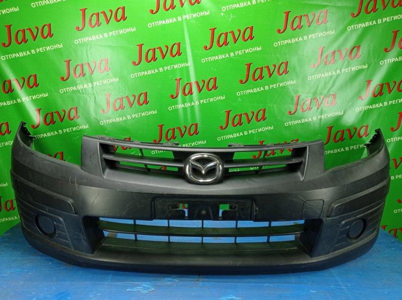 Бампер Mazda Familia VY12 HR15DE 2013 передний (б/у) ПОТЕРТОСТИ.