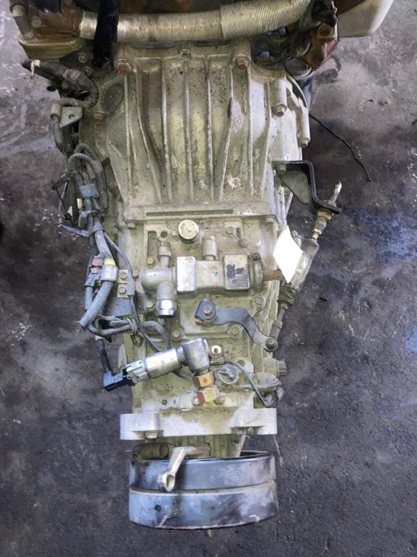 Мкпп Mitsubishi Canter FE72 4M50-T 2006 (б/у) ПРОБЕГ-56000КМ. 2WD. 5СТУП. ЛОМ ДАТЧИКА.