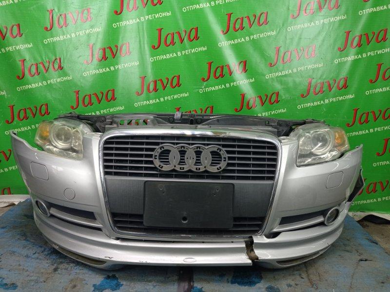 Ноускат Audi A4 8ED ALT 2006 передний (б/у) КСЕНОН. ТУМАНКИ. ОМЫВАТЕЛИ ФАР. ДЕФЕКТ ГУБЫ. WAUZZZ8E16A292761