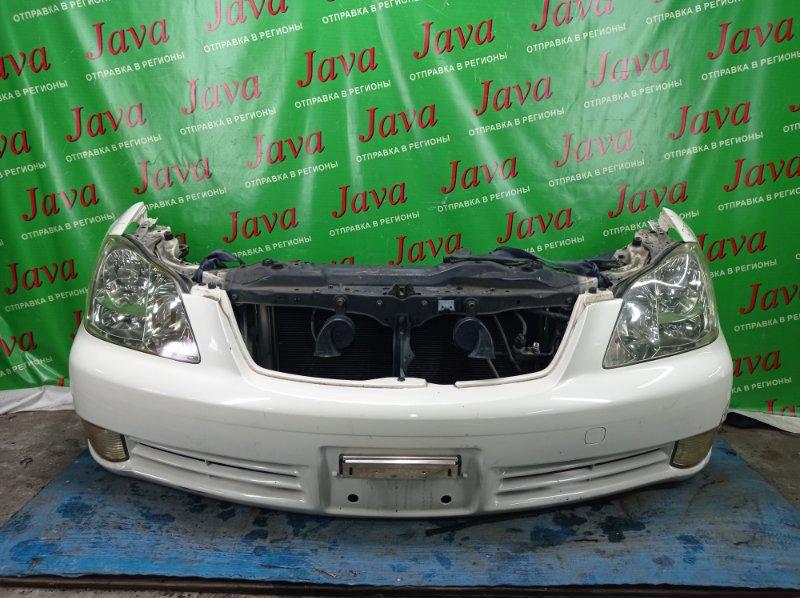 Ноускат Toyota Crown GRS182 3GR-FSE 2005 передний (б/у) КСЕНОН. ТУМАНКИ.