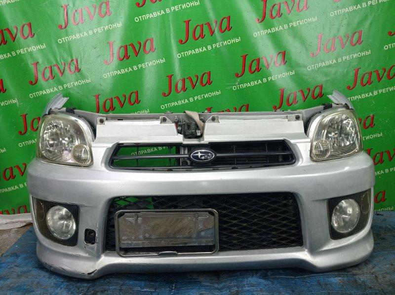 Ноускат Subaru Pleo RV1 EN07 2007 передний (б/у) ПОТЕРТОСТИ НА БАМПЕРЕ. ДЕФЕКТ ПРАВОЙ ТУМАНКИ. ПОД М/Т.