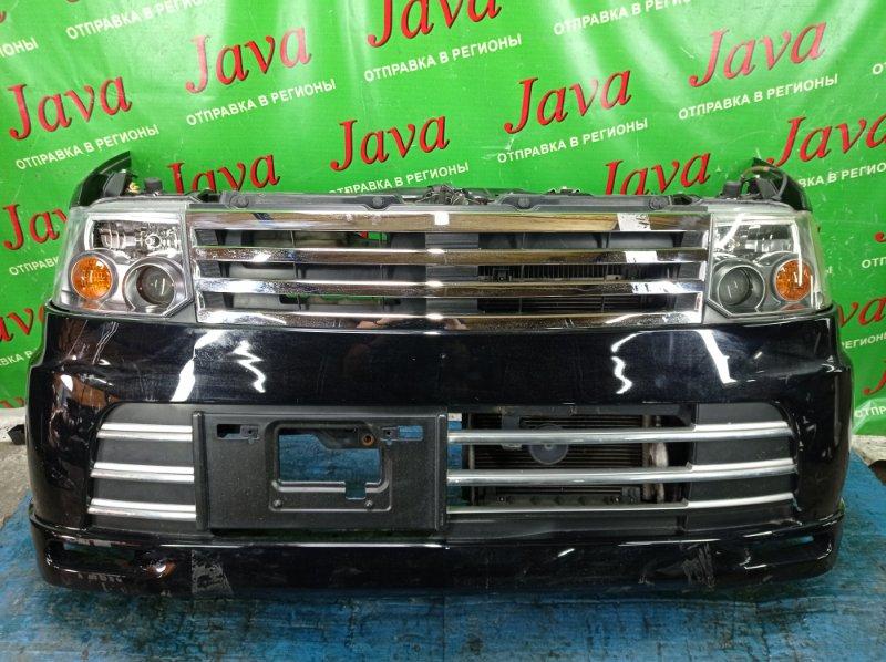 Ноускат Nissan Otti H92W 3G83 2007 передний (б/у) КСЕНОН. ПОД А/Т. ПОТЕРТОСТИ НА БАМПЕРЕ И ПРАВОЙ ФАРЕ.
