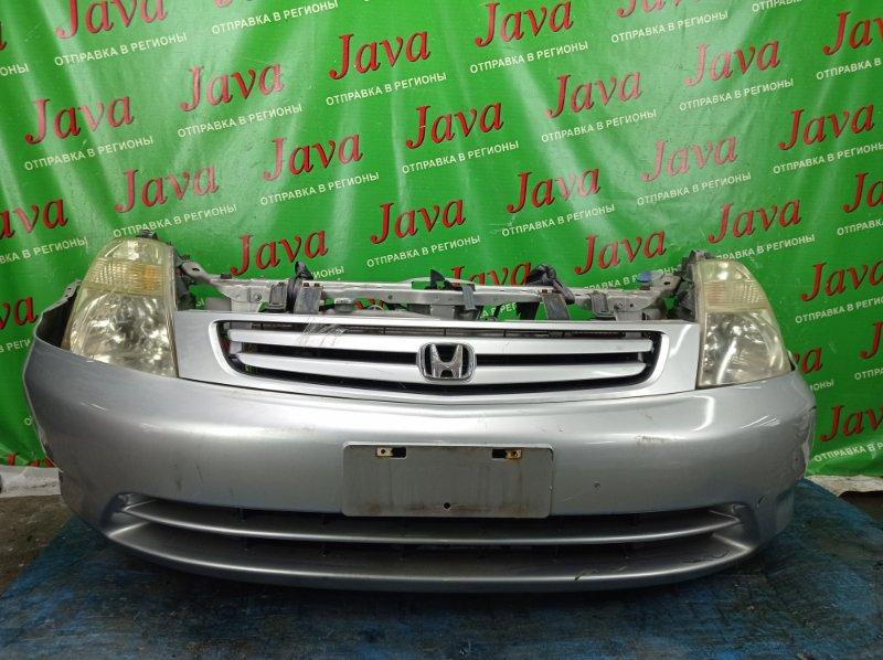 Ноускат Honda Stream RN1 D17A 2001 передний (б/у) 1-Я МОД. ФАРЫ ГАЛОГЕН. ПОТЕКИ НА ПРАВОЙ ФАРЕ.