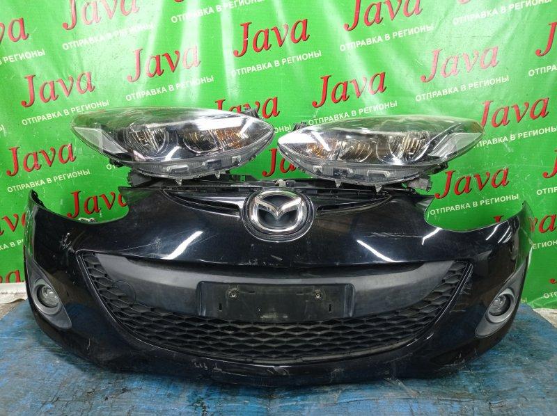 Ноускат Mazda Demio DEJFS P3-VPS 2013 передний (б/у) 2-Я МОД. КСЕНОН. ТУМАНКИ. ПОЛЕЗ ЛАК НА ФАРАХ.