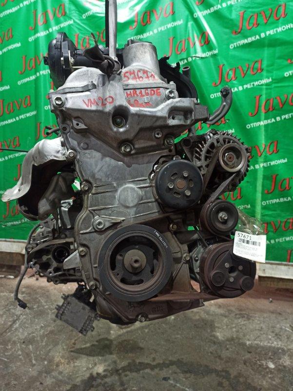 Двигатель Nissan Nv200 VM20 HR16DE 2012 (б/у) ПРОБЕГ-69000КМ. 2WD. КОСА+КОМП. ПОД А/Т. СТАРТЕР В КОМПЛЕКТЕ.